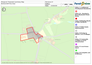 Pengover Proposals Summary Map